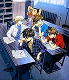 Gundam Wing pilots in school, 110 pieces