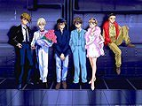Gundam Wing pilots and Relena, 150 pieces